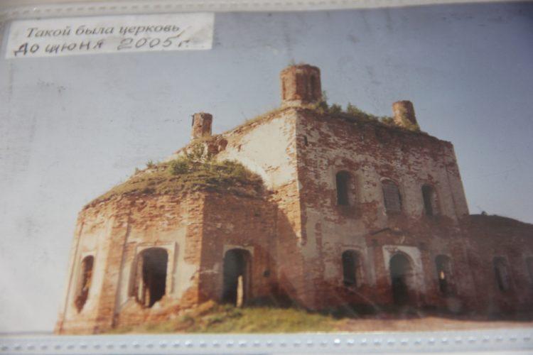 Как сельская учительница храм восстанавливала