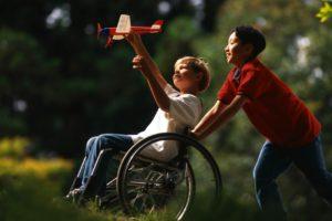 Ищем волонтера для общения с ребенком-инвалидом