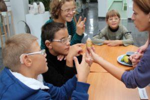 Ищем волонтеров, желающих присмотреть за незрячими и слабовидящими детьми