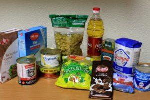 Собираем продукты для подопечных семей