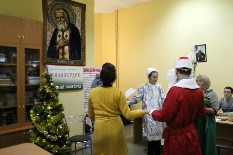 Первая репетиция поздравлений детей с Рождеством Христовым