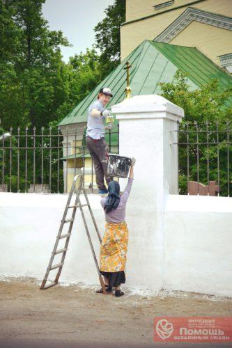 19 апреля уборка в Высоковском храме, приходите!