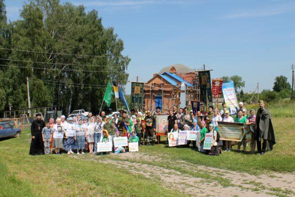 21 июля приглашаем на престольный праздник храма  в честь Казанской иконы  Божией Матери в с. Кажлейка