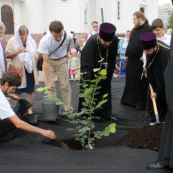 Помощь на престольном празднике в храме равноапостольной княгини Ольги