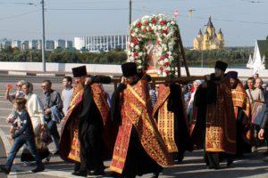 11 сентября в Нижнем Новгороде пройдет крестный ход «За жизнь и трезвую Россию»