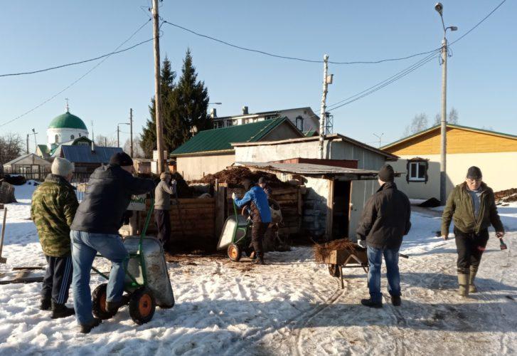 Помощь монастырю в Семёновском районе